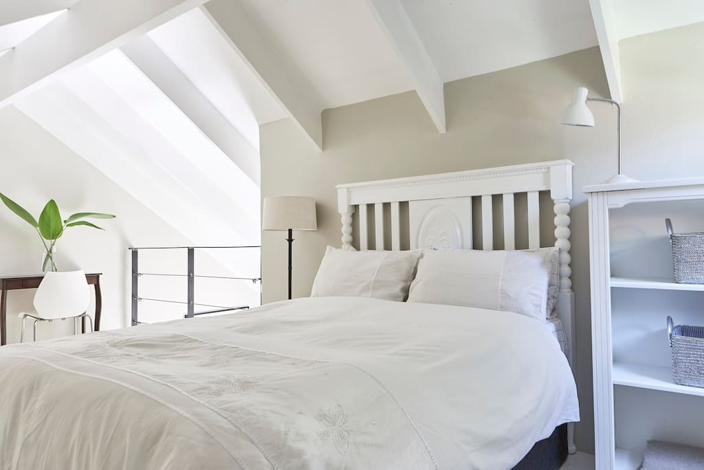 Loft bedroom - double bed