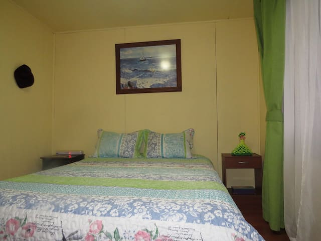 """Cabaña """" los Coigues 2308 """" ( Bed and breakfast )."""