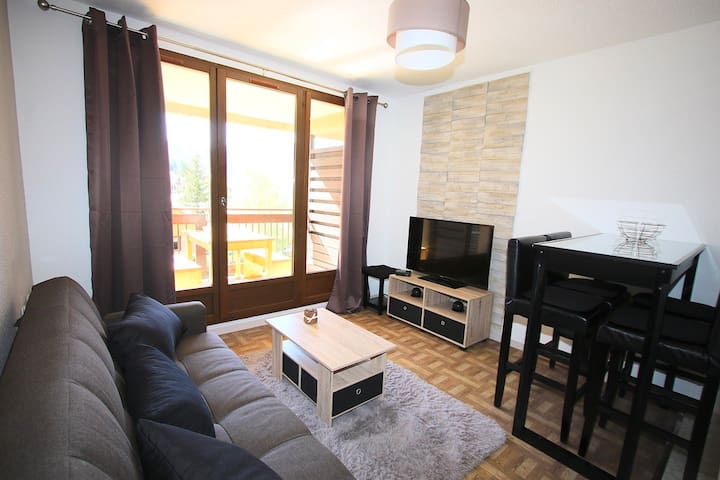 Cozy apartment 5 minutes from the ski slopes