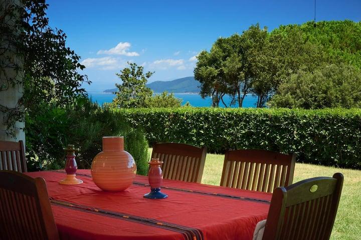 Villa super panoramica  relax e privacy