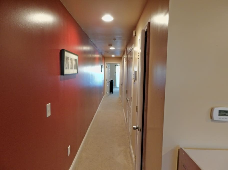 Hallway to Bedroom 2 and 3