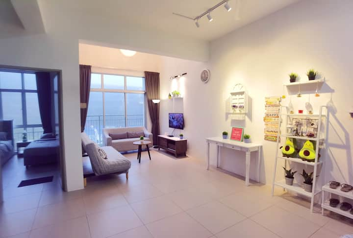 PROMO!!Newly Decorated 3BR Penthouse (max 12 pax)
