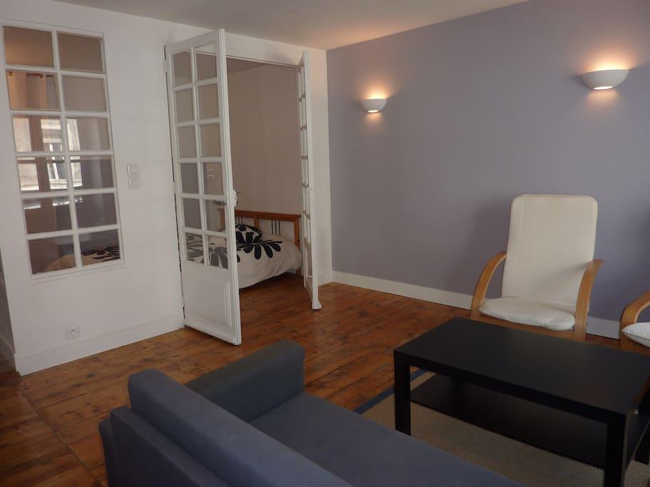 Hyper centre logement de caract re type loft 40 m2 for Prix du m2 grenoble