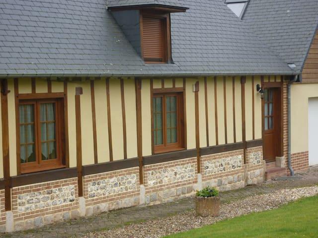 Gîte  «l'appart' dela longère» - Héricourt-en-Caux - Apartment