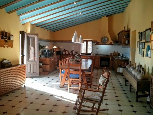 La Almazara Alta. La Fauna Room. - Vélez-Blanco - Dom