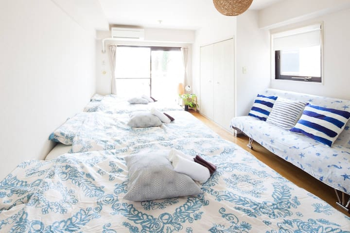 8Guests-Shinjyuku&Shibuya-Group travel - Shibuya - Apartamento