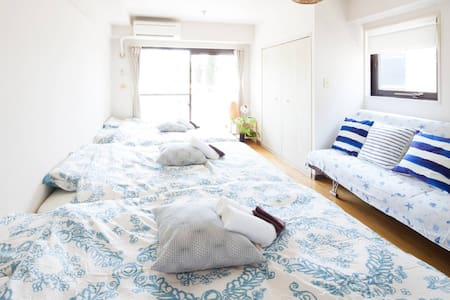 8Guests-Shinjyuku&Shibuya-Group travel - Shibuya - Apartemen