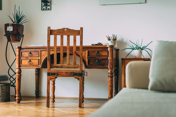 Freundliche und gemütliche Wohnung
