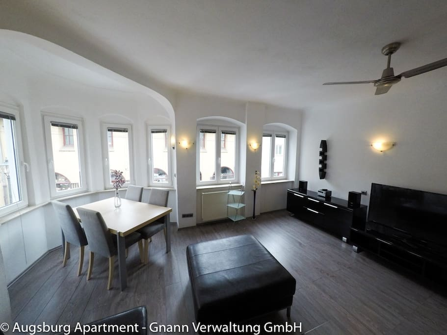 Nice historic city apartment condo flat apartments for Augsburg apartments for rent