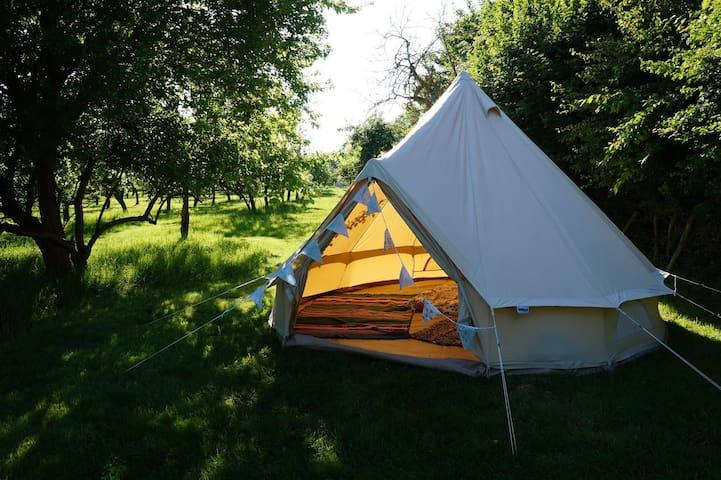 Marjorie Bell Tent, The Orchard Getaway