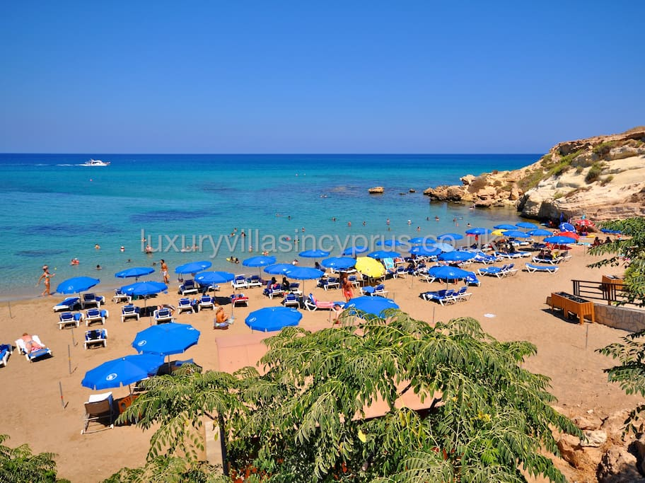 Set right by the beautiful Fireman's Beach in Kapparis.