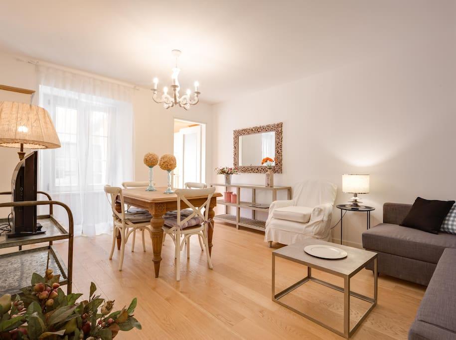 Roma75 suite 75mq con terrazza e a c new appartamenti for Nuove case con suite suocera