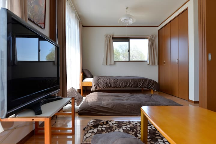 Near kawagoe /Free WIFI/1Bed&3FUTON