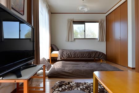 小江戸川越/Free WIFI/1BED&3FUTON/PARKING - Kawagoe-shi kasahata