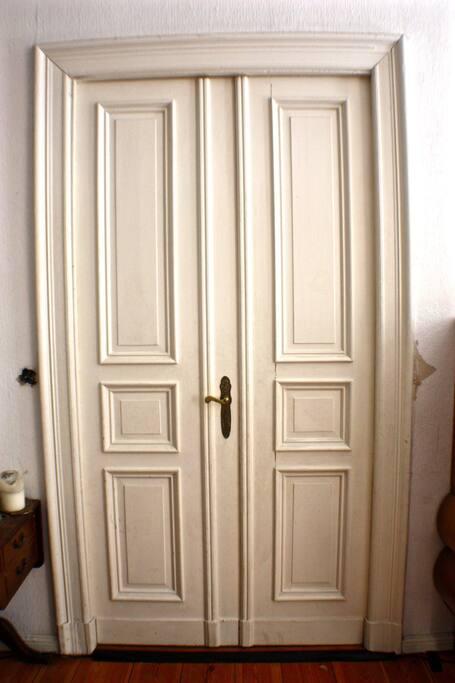 The door to your room.