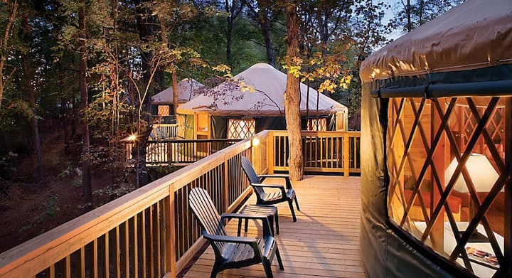 Shenandoah Crossing Yurt Spring Break Retreat