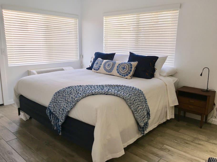 2nd Bedroom with king-sized bed