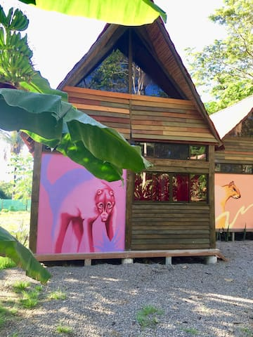 Pizote - Jungle Cabina with Pool Access