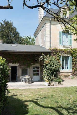 Gîte du Moulin Pallu avec mezzanine et terrasse - Beuxes - Casa