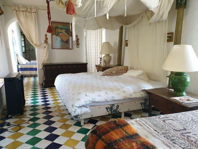 Suite Marroqui para 2 parejas con vistas preciosas