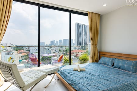 Penthouse - Panorama view in Thao Dien- Longterm