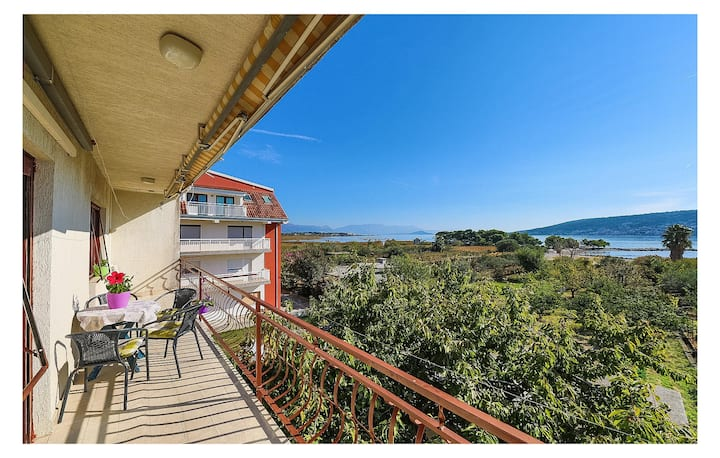 Amazing apartment in Trogir with 2 Bedrooms
