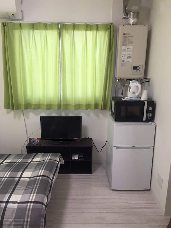 402室長崎市内一番便利な場所!Free Wifi、観光、ショッピング、飲食など何でもありますよ~~