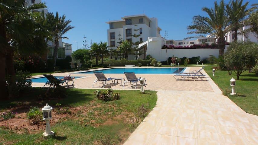 Modern Apartment, Pool, Beach front Essaouira