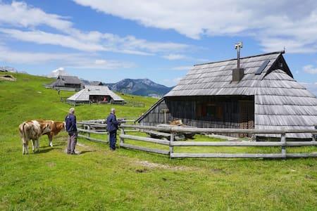Authentic Herders Mountain Hut on Velika planina