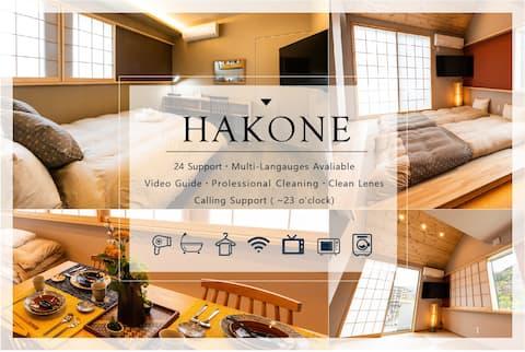 【Hakone Yumoto Area.】★2BD/7ppl/free wifi♪