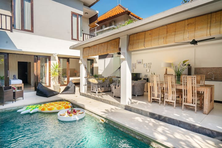 Villa Pina Colada_500m to beach_Pool breakfast!