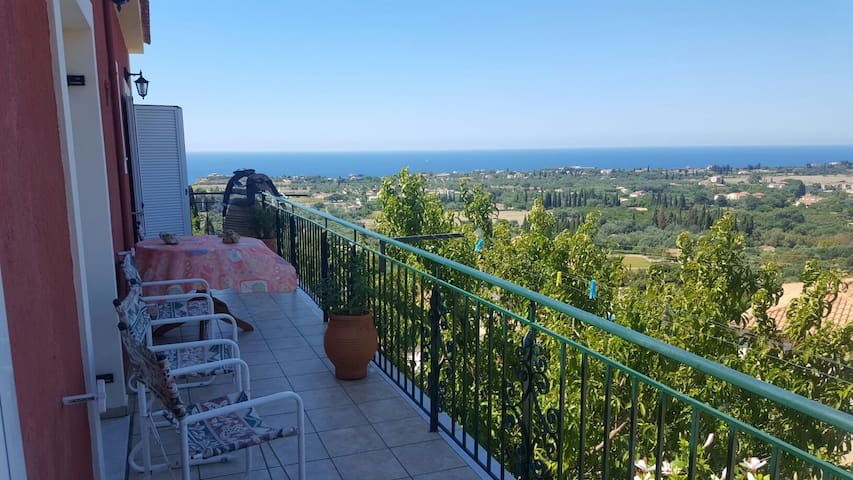 Luxury apartment with sea view - Μεταξάτα - Leilighet