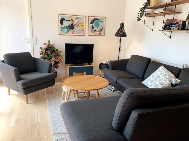 Komfortabel sofagruppe