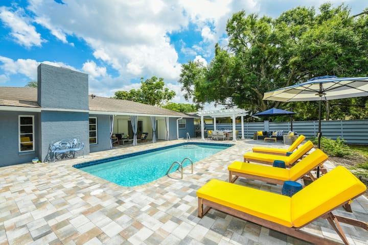 Blue Heron Ranch - Coastal, Modern, Private w/Pool