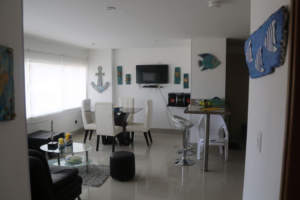 Room + Dining room