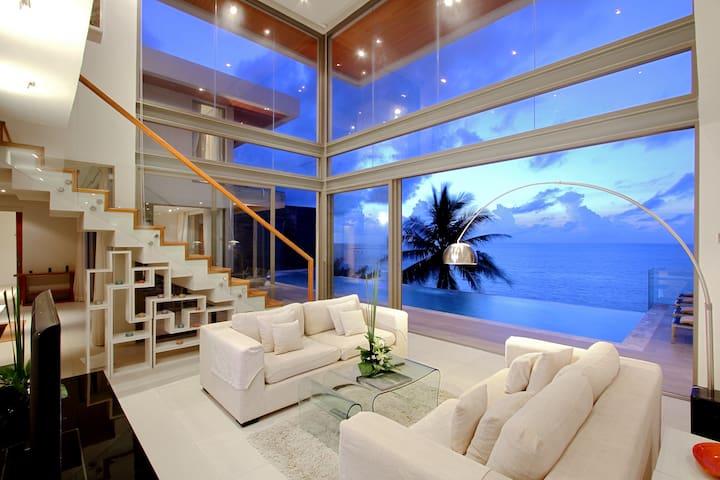 Stunning 6 bedroom Pool Villa Kammala Beach