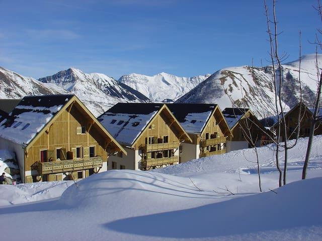 Appart Cosy + Charmant 6p, Ski aux Sybelles