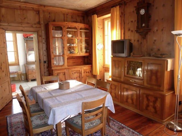 Casa Patrizia tra  lago di Como e Engadina Alta