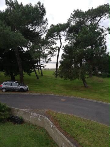 Chambre privée avec vue sur mer