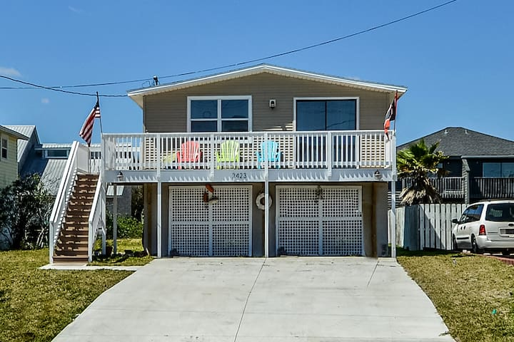 Centrally Located Ocean View Home - Fernandina Beach - Casa
