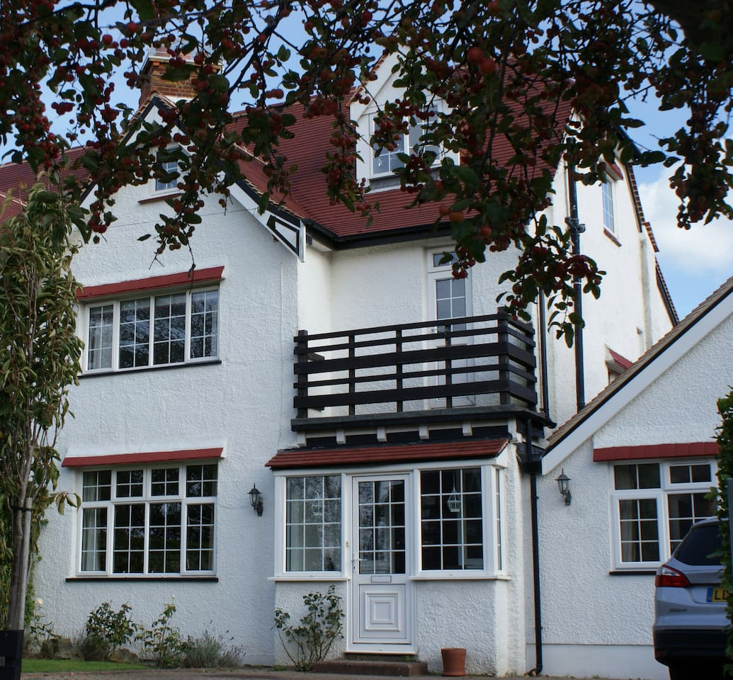 Our house - built in 1922 and completely refurbished, retaining many original features