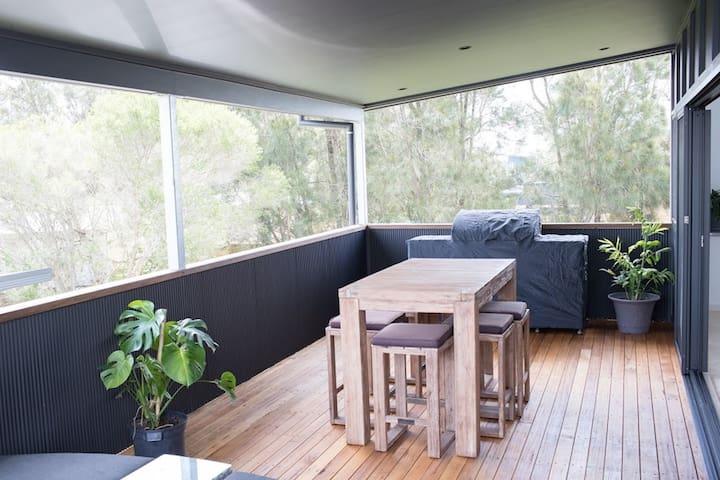 main house deck