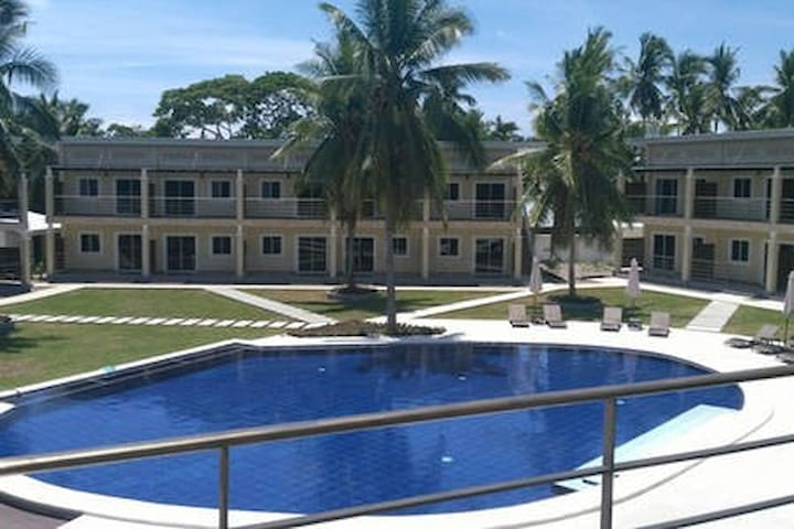 Best value in Panglao! Large Balcony, Poolview NEW