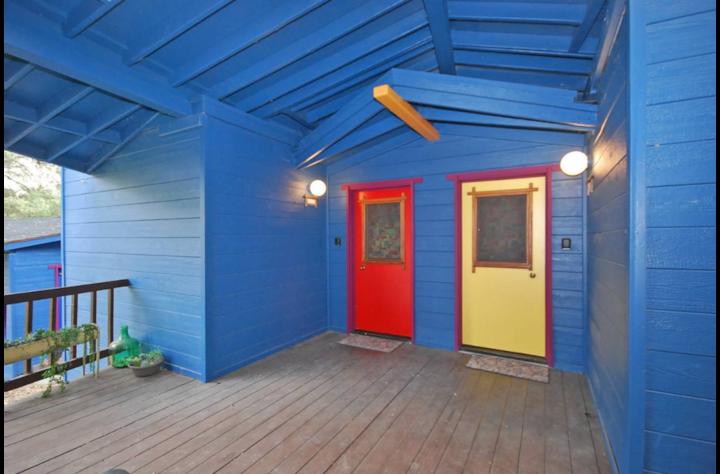 Sanctuary Under the Oaks - Yellow Door
