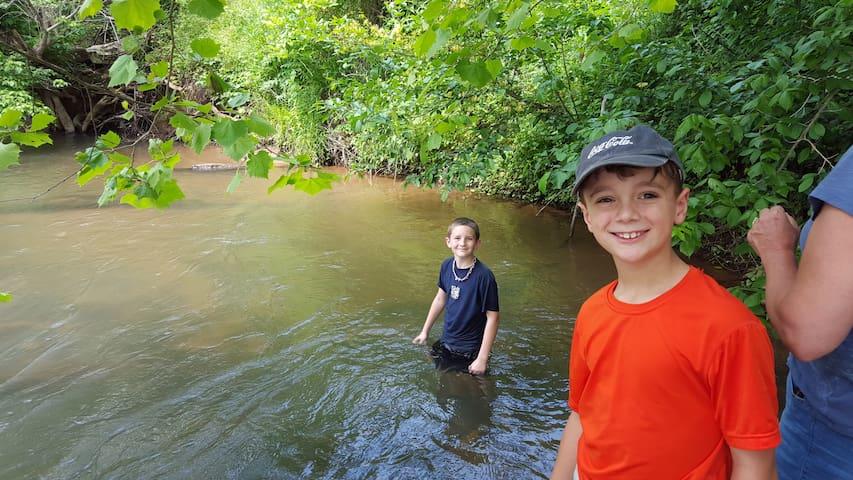 Family Fun at the river