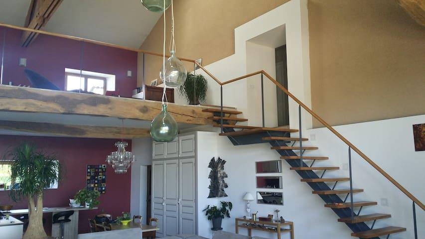 Grange du XIX totalement restaurée - Penol - Haus