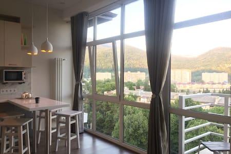 Апартаменты с панорамным видом на горы