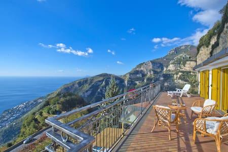 La Dimora degli Dei, Amazing Villa with Sea View - Furore