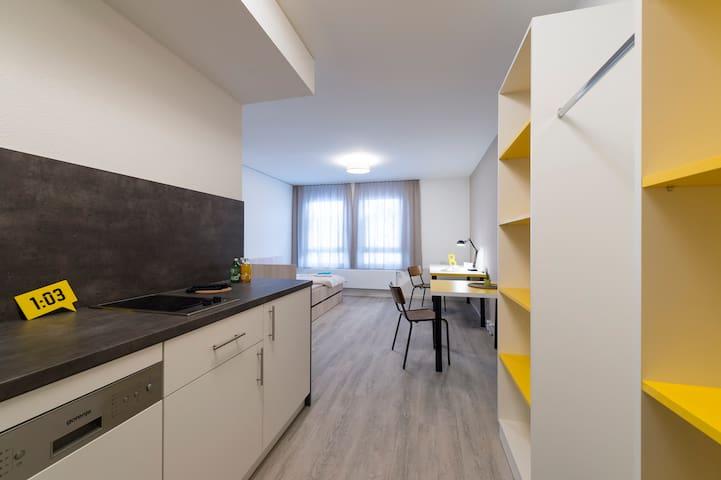 Einfaches Apartment im Herzen von Ludwigsburg - Ludwigsburg - Timeshare