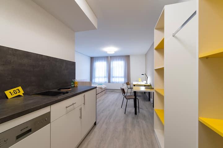 Einfaches Apartment im Herzen von Ludwigsburg